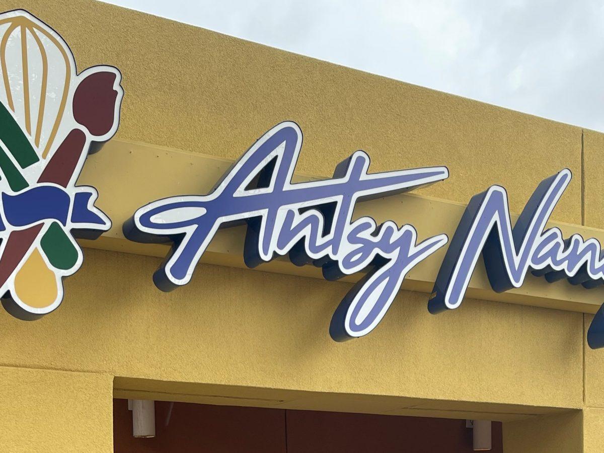 Antsy Nancy Sign